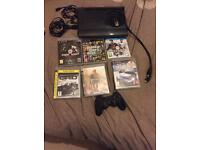 PS3 console and games not PS4 or Xbox
