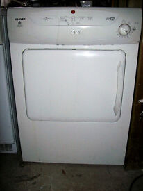 HOOVER VENTED TUMBLE DRYER DRIER.FREE DELI VERY LOCAL TO NEW MILTON