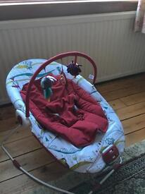Mamas and papas baby bouncer chair swing