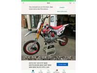 Cw race pit bike
