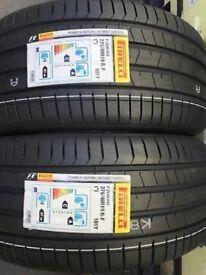 2 Pirelli runflat tires