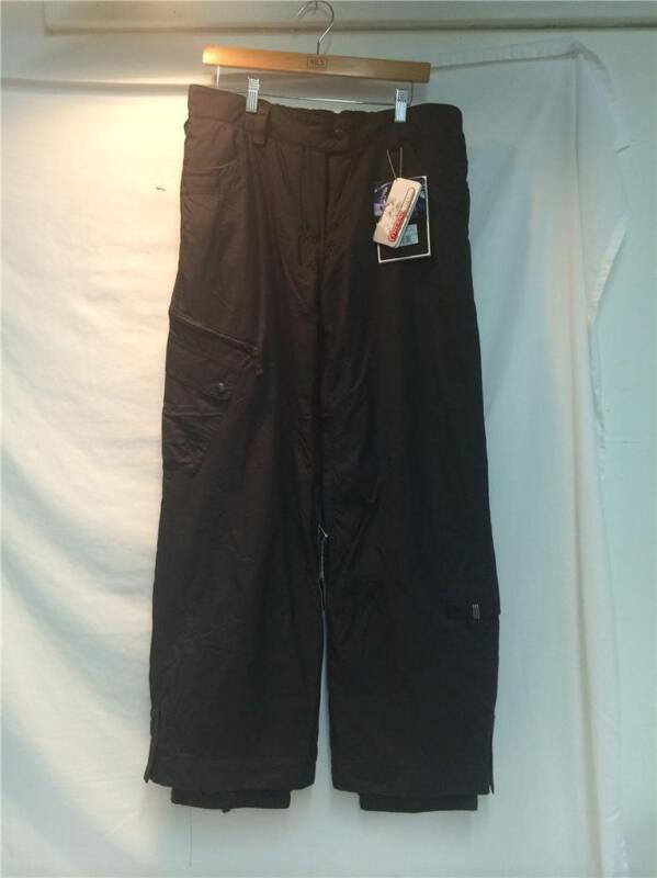 Women's Core Powder Room Insulated Snow Ski Winter Pants Black Size L NEW