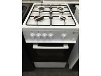**CHRISTMAS SALE** New Graded Flavel Single Door Gas Cooker 50cm - White