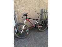 Merida full suspension mountain bike