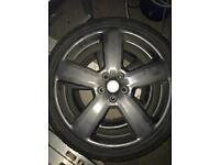 Audi 19 inch rs6 dark grey 5x112