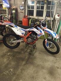 Motor cross bike ktm 350