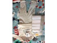 Unisex 2 piece and baby vests