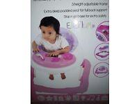 Brand new baby walker in box