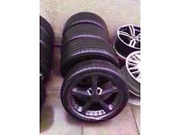 """Bmw Ac Schnitzer 19"""" Type 4 5 6 Alloy Wheels 5*120 Can Sell Single Can Post Part Ex Welcome"""