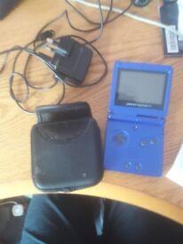 Game boy Advance SP Blue