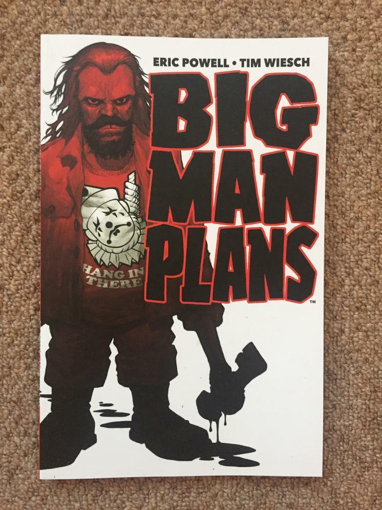 Big man plans graphic novel