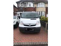 Van - Vauxhall Vivaro LWB 2012