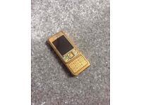 NOKIA 6300 GOLD UNLOCKED