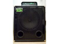 """Trace Elliot 1818T (1 x 18"""") Bass Cab, 300W, 8 Ohms, 2001 UK-made, good condition"""