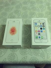 Xmas bargain 2 iPhones SE & 5S new for only £450ono!!!