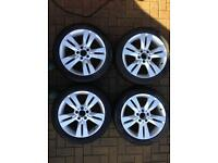 Mercedes 17 inch winter tyres with alloys