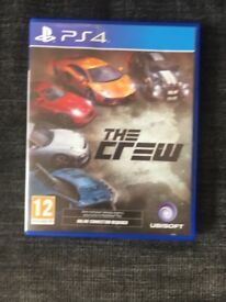 The crew 1 for PS4