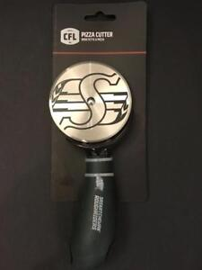 Saskatchewan Roughriders Deluxe Pizza Cutter (New)