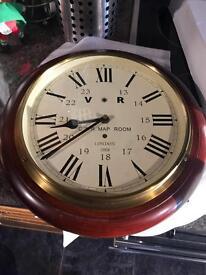 Map room clock