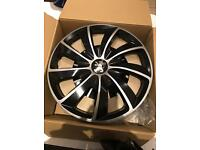 "16"" wheel trim for Peugeot set of four"