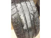 2x Porsche N rated ( pair ) Michelin pilot sport 2 tyres 225 40 18