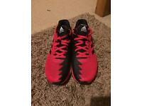 Adidas Ultra Boost Running Trainers. Red/Black Men's Size 10