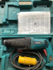 Makita 110v SDS Hammer Drill