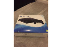 Playstation 4 SLIm 500 GB New CUH-2016A Jet Black
