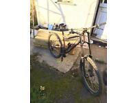 Downhill mountain bike sunn radical finest