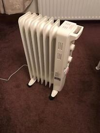 Oil filled radiator timer controlled new