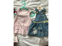 Baby girls summer clothing 0-3 months