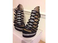 Just Fab Sandals Size 7