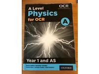 A Level Physics for OCR Year 1 & AS Text Book