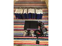 Ps2 slim with 32 games