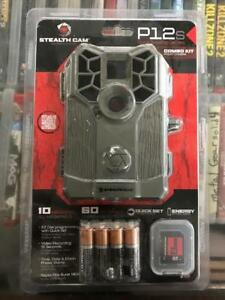 BRAND NEW Stealth Cam P12S Game Camera Combo