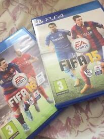 Fifa 16 & Fifa 15 PlayStation 4