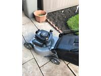 Mountfield petrol lawnmower self-propelled so no pushing . In very good condition