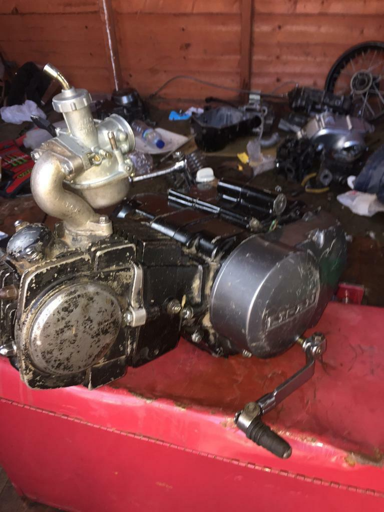 125 pit bike engine