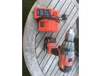 Milwaukee 18v twin speed hammer drill