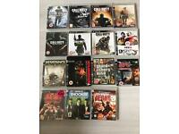 PS3 3 pads 16 games