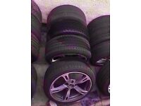 "Bmw ac schnitzer 18"" Type 4 5 6 Alloy Wheels Can Sell Single 5*120 Can Post Part Ex Welcome"