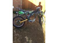 Yamaha xt125 rolling frame with v5