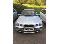 BMW 316 ti, 3 Door, '54' Plate, 1.8 Petrol, 102,000 miles