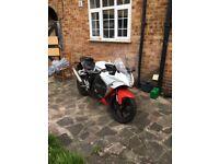Hyosung GTR125R 125cc racing sports legal geared motorbike low mileage