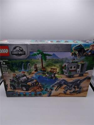 LEGO Jurassic World: Baryonyx Face-Off: The Treasure Hunt w/additional pieces