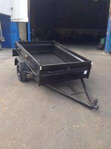 8X5 HIGH SIDE BOX TRAILER FREE SPARE WHEEL & 12 MONTH REGO Smithfield Parramatta Area Preview
