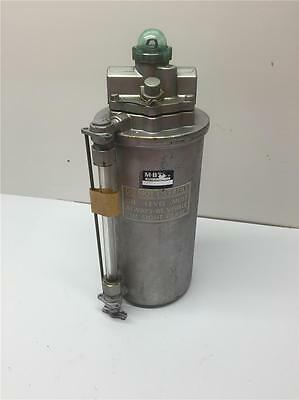 Mb Detroit Industrial Compressor Pneumatic Air Line 2l106-49 Lubricator 38 Npt