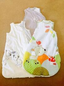 Baby Sleeping bags - 0-6 month 2,5tog