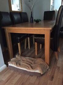 DINING ROOM TABLE - wood