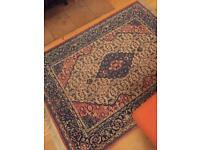 Persian style vintage rug